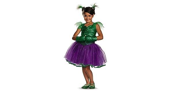 Amazon.com: Disfraz Marvel s She Hulk Tutu Prestige Disfraz ...