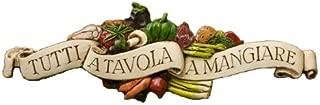product image for Piazza Pisano Art by Al Pisano Italian Wall Plaque Tutti a Tavola a Mangiare