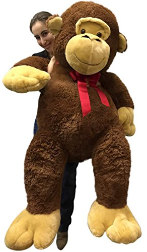Buy Giant Stuffed Monkey 5 Feet Tall Soft Brown Large Plush Animal