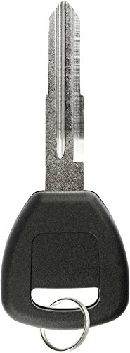 KeylessOption Replacement Chip Transponder Blank Car Ignition Key Blade for Honda Acura HD106PT (Acura Cl Car)
