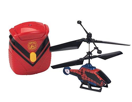 SPIDERMAN Hélicoptere Contrôlable a la Main 12 cm