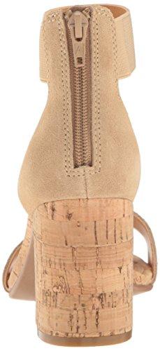 donne toe in cinturino alla casual speranze pelle Spruzzi sandali comode con open alte taglie tostatura chiara caviglia 4pIFqwd