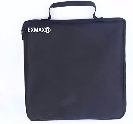 EXMAX Photo Studio Tent Mini Foldable/&Portable Shooting Photography Light Box 11.8in Cube Room with LED Light