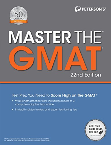 Peterson's Master the GMAT (22nd 2015) [Peterson's]