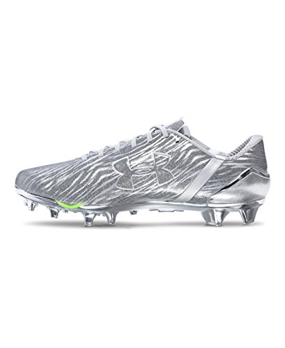 Calcio Metallic Uomo Scarpe SilverWhite Armour Under Da lJFK1Tc
