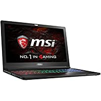 MSI VR Ready GS63VR Stealth Pro-068 15.6 Slim and Light Gaming Laptop Geforce GTX 1060 i7-6700HQ 16GB 512GB SSD Windows 10