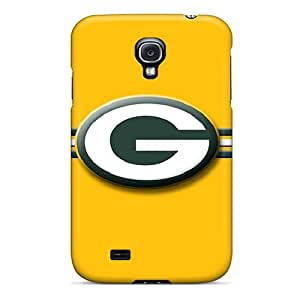 JonBradica Samsung Galaxy S4 Best Hard Phone Cases Allow Personal Design Stylish Green Bay Packers Pattern [QcH2481TyAF]
