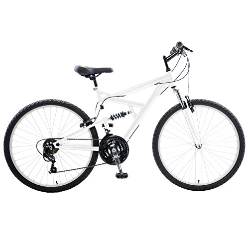 Cycle Force Dual Suspension Mountain Bike, 26 inch wheels, 1