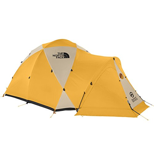 The North Face Bastion 4 Expedition Tent Summit Gold/Asphalt Grey by The North Face