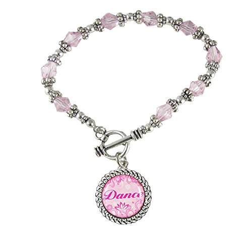 cet Cut Beaded Bracelet Girls Jewelry Dancer Ballet Tap Gift ()