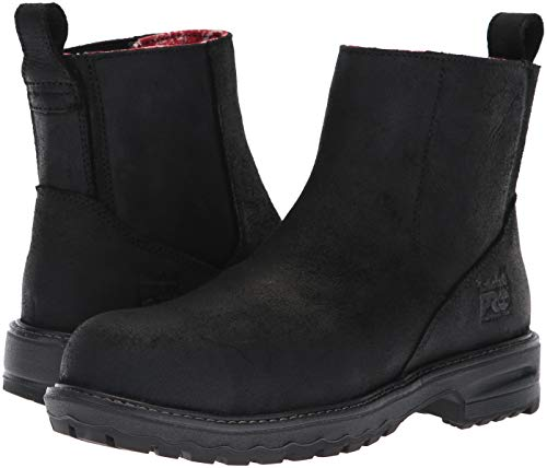 Composite Leather Industrial Boot Hightower Us Pro Timberland 9 Sd Women's Toe Distressed Chelsea Black M 8Ux1I00Pnq
