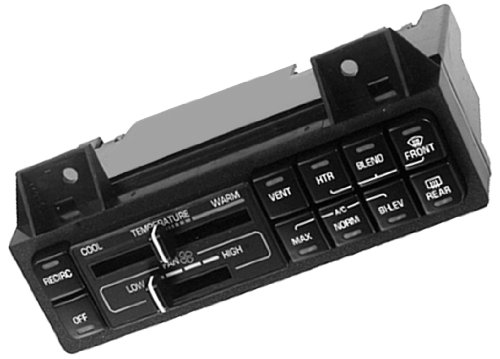 ACDelco 15-72208 Heater and Air Conditioner Control Assembly