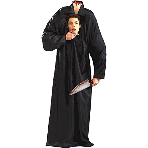 Forum Novelties Headless Horseman Man Costume for Adults - (Small) Black -