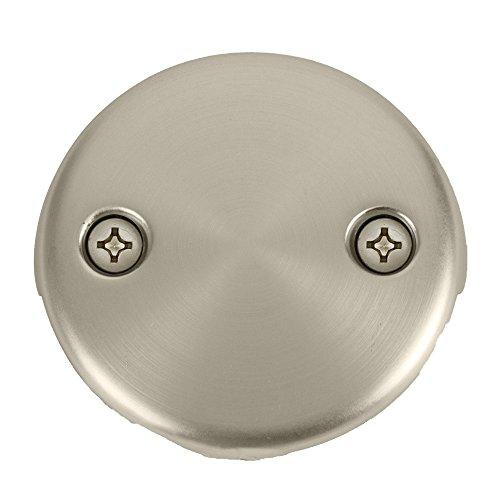 Bennington Toe Touch Bathtub Tub Drain Overflow Conversion Kit, Satin Nickel good