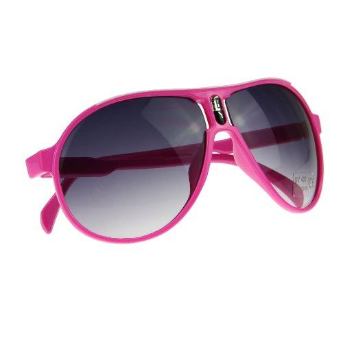 MioCloth BXT Kids Fashion Oversized UV400 Sunglasses Sun Glasses UV Protection Traveling Sunglasses Eyewear with - Case Minion Glasses