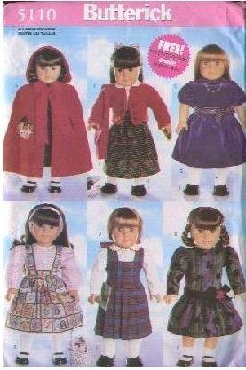 Free 18 Doll Patterns - 3