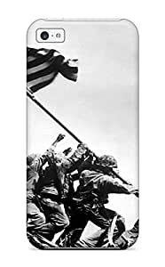 For Iphone 5c Protector Case Raising The Flag On Iwo Jima Phone Cover