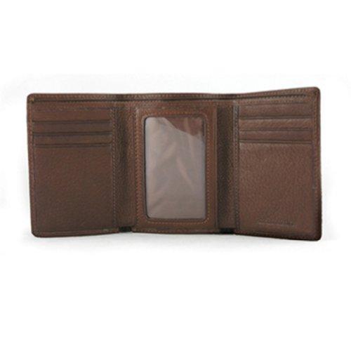 Cashmere Tri Mens Fold - Osgoode Marley Cashmere ID Tri-Fold Wallet (Brandy)