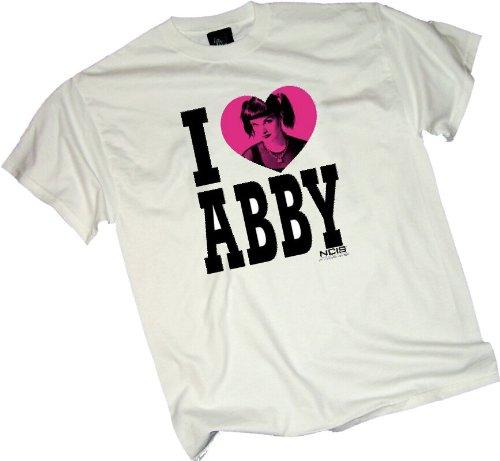 I Heart Abby -- NCIS: Naval Criminal Investigative Service Adult T-Shirt, X-Large