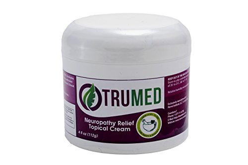 TruMed Natural Neuropathy Cream - For Temporary Pain Relief for Nerve Pain and Neuropathy Discomfort