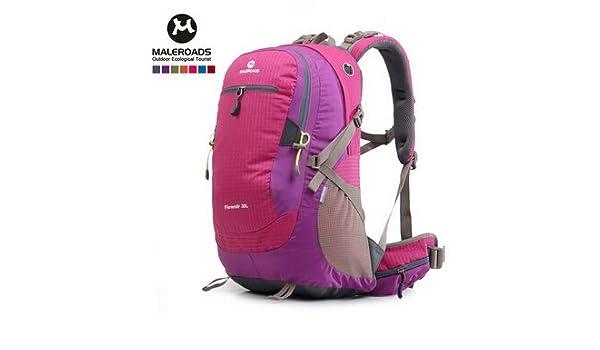 Amazon.com : Maleroads 35L 50L waterproof hiking backpack outdoor camping mochilas travel backpack hydration mountaineering bags women men : Sports & ...