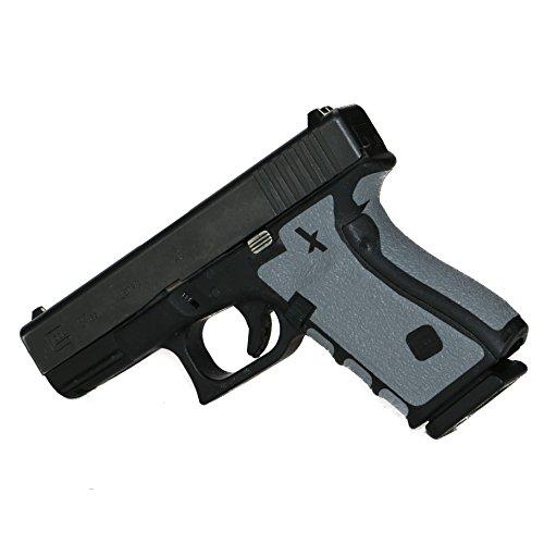 Foxx Grips -Gun Grips Glock 17, 22, 24, 31, 34, 35, 37 Grey (Grip Enhancement) (Glock 22 Gun Skin)