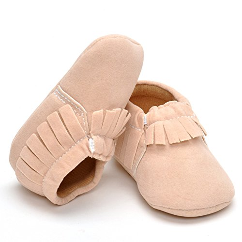 beige Mokassins Wildleder Walking Schuhe Fist Infant Beige Gr枚脽e Unisex A1pqwH