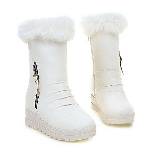 Balamasa - Botas De Uretano Confort, Plataforma, Mujer, Informal, Blanco