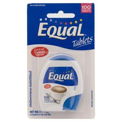 Sweetener Sweet Slim (Equal Great Sweet Taste 8.5-grams Package (100 Tablets), 5 Count)