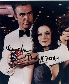 LANA WOOD (Diamonds are Forever) 8x10 Female Celebrity Photo Signed In-Person from Iconographs