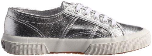 Sneaker 031 Argento COTMETU Silver Superga 2750 Silber donna S002HG0 HfPqx16Anp