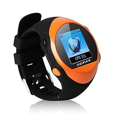 ZGPAX PG88 Smartwatch-Reloj Inteligente de Aire Libre SOS con GPS Evitar La pérdida de