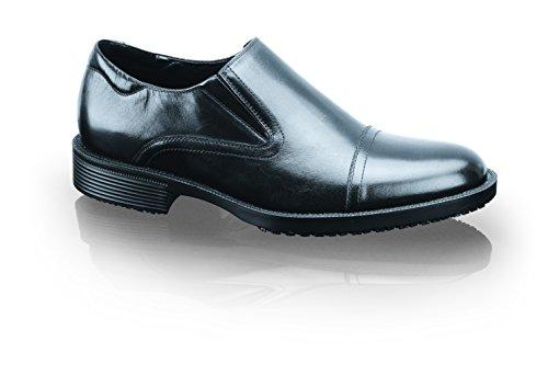 Scarpe per Equipaggi 1202–09–41/7/8Statesman da uomo da infilare in pelle Smart scarpe antiscivolo, 7UK, nero