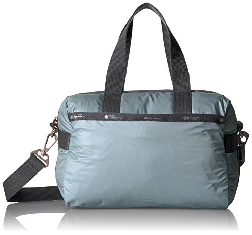 LeSportsac Essential Small Uptown Satchel, Manatee (Manatee Purse)