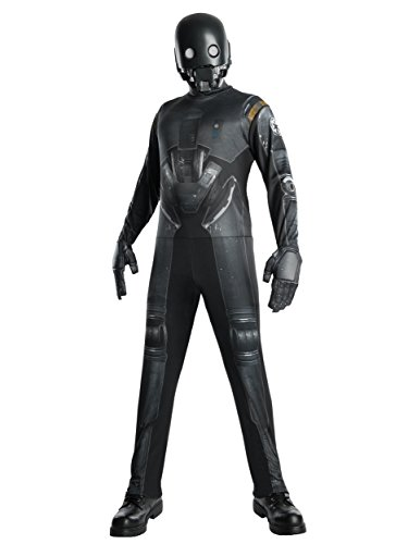 (Rogue One: A Star Wars Story Men's K-2SO Costume, Multi,)