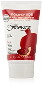 Juice Organics Pompeptide Facial Moisturizer, Pomegranate Red, 1.7 Ounce Tube