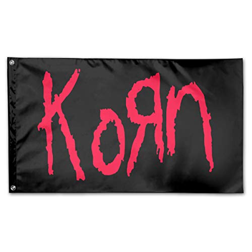 Korn Family Garden Decor Semitransparent Match Flag Wall Decorate 59in35in