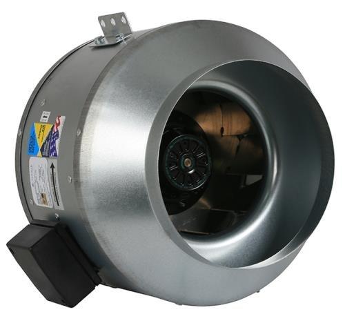 Fantech Indoor Inline Mixed Flow 10 in Fan FKD 10XL 1267 CFM
