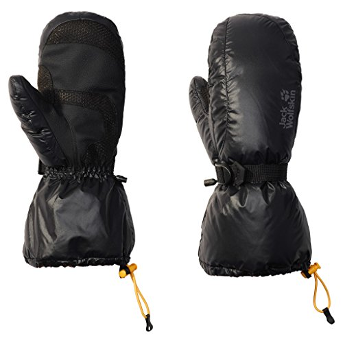 Down Mittens - Jack Wolfskin Texapore Down XT Mittens, Large, Black