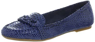 AK Anne Klein Women's Samanta Moccasin,Blue Rp,5 M US
