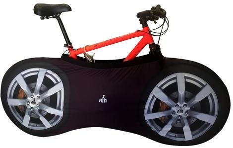YISAMA Funda Bicicleta Decorativas, Funda Bici Para Interiores, Forro Para Bicicletas Motivo Llantas Yisama YISAMA INTERNATIONAL