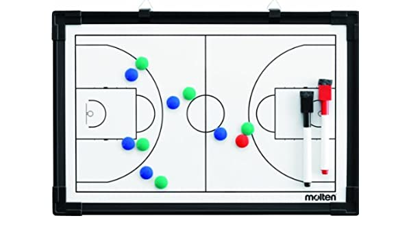 MOLTEN Profesional Pizarra Magnética de Baloncesto, Mujer ...
