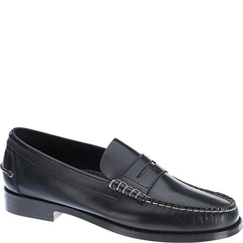 Sebago Legacy Penny Slip On Shoes Zwart Leer
