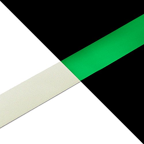 - NAC INDUSTRIAL Glow in The Dark Self-Adhesive Marking Tape NAC Safety Glow – Photoluminescent Emergency Marker for Buildings, Office, Home - Various Sizes & Colours (1