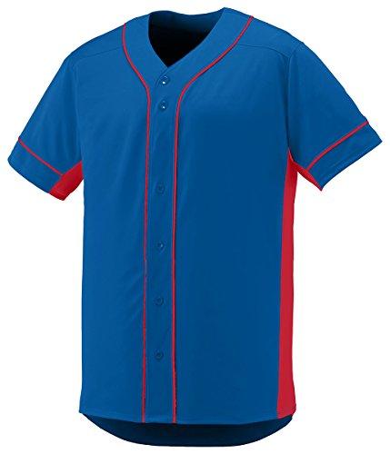 Augusta Sportswear Men's Slugger Jersey, Royal/Red, ()