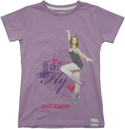 Lilas T Acts Garçon Du Manches Cou Col Junior shirt Courtes Ras vvHxrOq5n