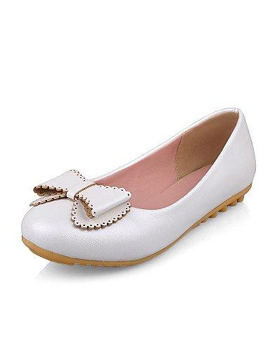 blue Casual talón us5 de de blanco PDX 5 redonda zapatos eu36 punta 5 rosa plano Flats uk3 cn35 azul mujer fqzxO6xwI