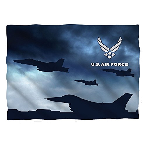 Wicked Tees AIR FORCE TAKE OFF Pillow Case