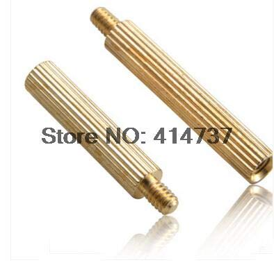 Nuts M230+3 Brass Male to Female Standoff Spacer 500pcs