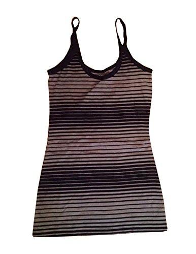 ocean-pacific-womens-black-and-grey-stripes-tank-sz-m-7-9